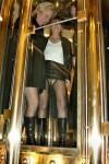 Im Glas-Aufzug